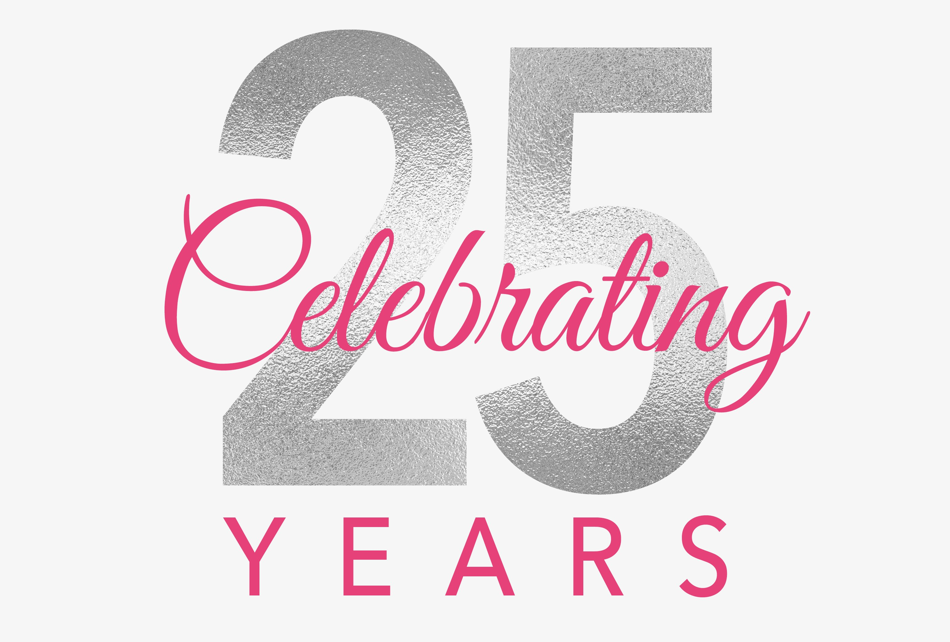 A logo created to recognize CoxHealth's 25th annual Pink Ribbon Rally and Luncheon.
